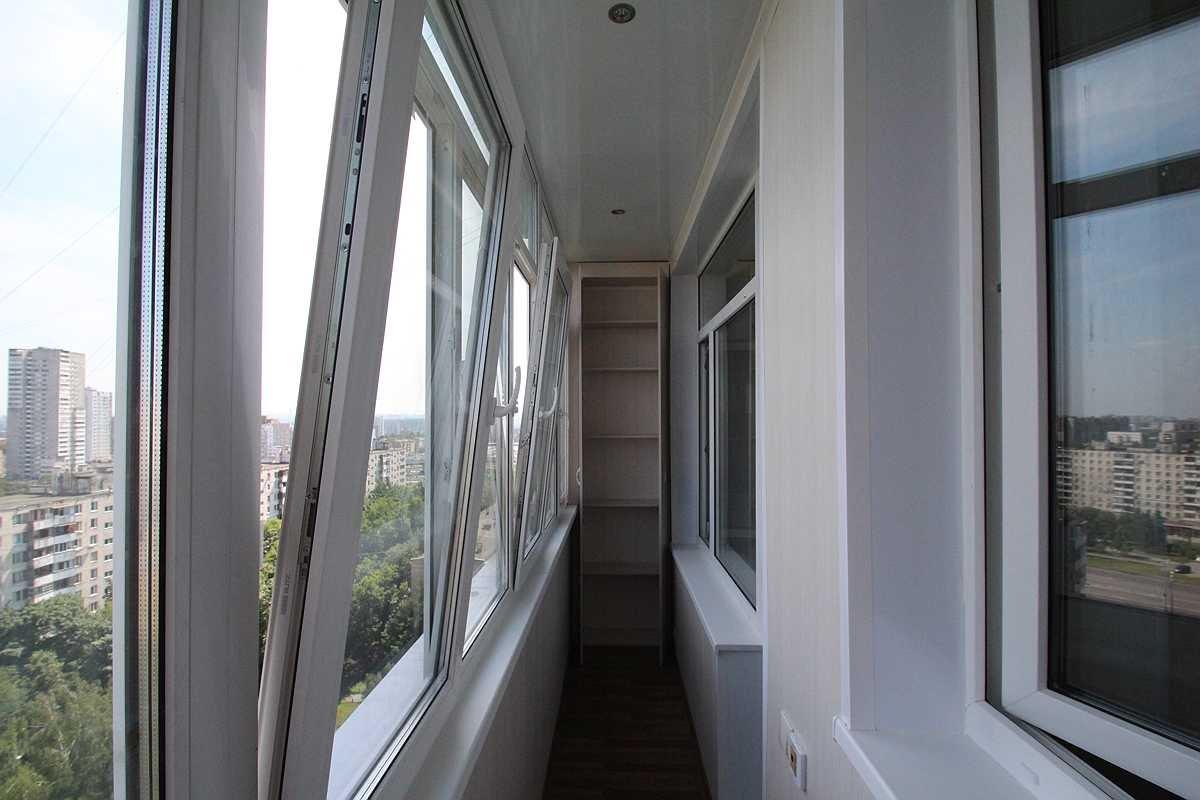 Технология остекления балкона видео..